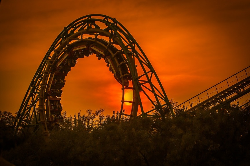 The Terrifying, Roller-Coaster Moments of the Christian Life